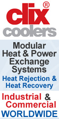 Clix Coolers, modular heat exchange systems..
