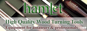 Hamlet Craft Tools - High quality woodturning tools