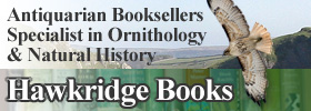 Antiquarian bookshop with a focus on ornithology and nature