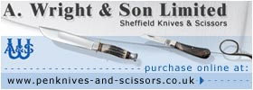 A. Wright and Son Ltd, Sheffield - Pen and Pocketknives, Bushcraft and Survival Knives and more..