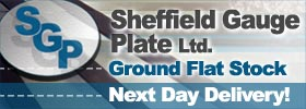 Sheffield Gauge Plate Ltd - Ground Flat Stock - full stock listing online, Next Day Delivery